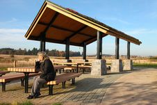 Free Recreational & Picnic Area Shelter. Stock Image - 21980311
