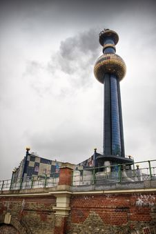Free District Heating Station, Vienna Stock Photography - 21980412