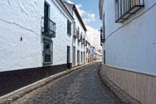 Free Streets Of Almagro In Andalusia Region In Spain Stock Image - 21980511
