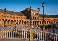 Free Spanish Square In Sevilla Stock Photos - 21980543