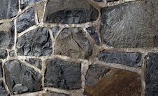 Free Stone Shapes In Urban Exterior Scene Royalty Free Stock Photos - 21981358