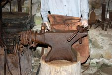 Blacksmith Anvil. Stock Photography