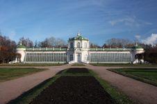 Free Moscow. Kuskovo Estate. Great Stone Greenhouse. Royalty Free Stock Photos - 21986158