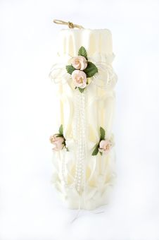 Free Wedding Candle Stock Photography - 21986782
