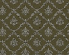 Free Seamless Damask Pattern Royalty Free Stock Image - 21987436