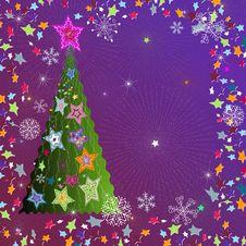 Free Christmas Frame Royalty Free Stock Photos - 21988118