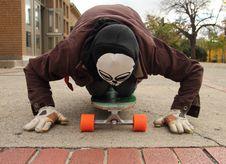 Free Devil Skater Royalty Free Stock Images - 21988899