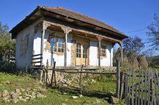 Free Ruined Transylvania House Stock Image - 21989361