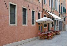 Free Venice Terrace Stock Image - 21989821