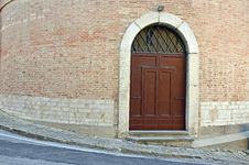 Free Round Walls Door Stock Photo - 21990140