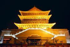 Free Sian Drum-tower Stock Photo - 21991020