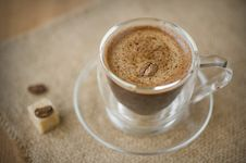 Free Cup Of Coffee Royalty Free Stock Photos - 21991488