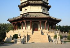 Free Chinese Pagoda Royalty Free Stock Image - 21991826