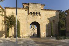 Free Monastery Of Santa Maria De Poblet Royalty Free Stock Images - 21994369