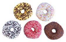 Free Donuts Isolated Stock Photo - 21997090