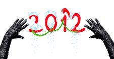 Free Happy New Year 2012 Stock Photos - 21997973