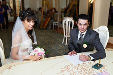 Free Solemn Registration Of Marriage Stock Photo - 21998000