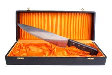 Free Knife In Box Royalty Free Stock Image - 21999306