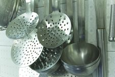 Free Cooking Ladles Stock Image - 21999421