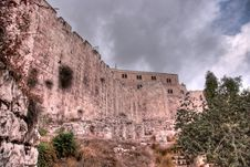 Free Jerusalem Old City Walls Stock Image - 21999431