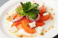 Free Tomato Salad Stock Photo - 21999550