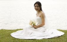 Free Asian Bride 1 Stock Photography - 220482