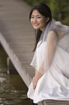 Free Outdoor Bride 6 Royalty Free Stock Photography - 222507