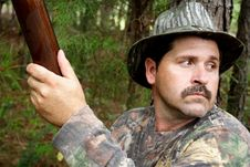 Free Hunter - Sportsman Royalty Free Stock Photography - 222607