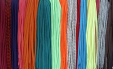 Free Colorful Shoelaces Stock Images - 222984