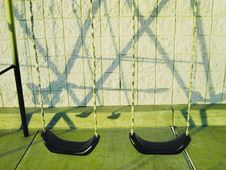 Free Swingset And It S Shadow Stock Image - 223671
