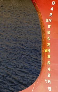 Free Depth Markings Stock Image - 224261