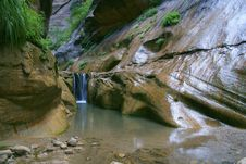 Free Grotto Waterfall Royalty Free Stock Photo - 228165
