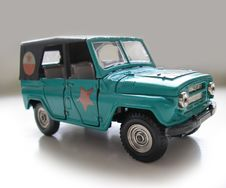 Free Old Soviet Union Model Car. Hobby, Collection Stock Photos - 229253