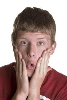 Free Teen With Surprised Expression Stock Image - 2200411