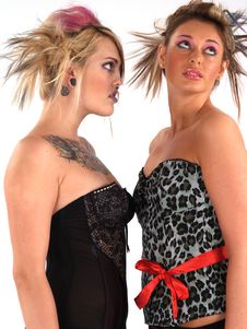 Free Rebel Blond Models Royalty Free Stock Images - 2200529