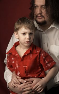 Free Father And Son Stock Image - 2200601