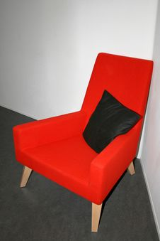 Free Red Chair Stock Images - 2201294