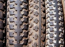 Free Old Bike Tyre Royalty Free Stock Image - 2203126