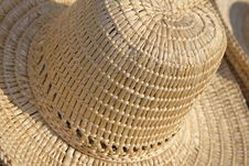 Free Straws Hat Abstract Stock Photo - 2204490