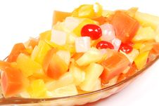 Free Mix Fruits Bowl Stock Photography - 2204492