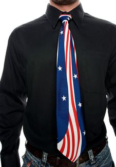 Free American Tie Royalty Free Stock Photo - 2205025