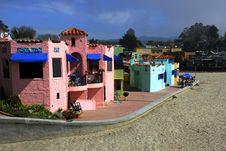 Free California Beach Town Royalty Free Stock Image - 2205196