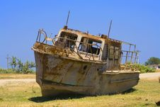 Free Wreck Front View Stock Photo - 2207170