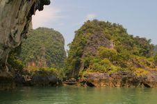 Free Lagoon Near To Phuket Stock Photography - 2207282