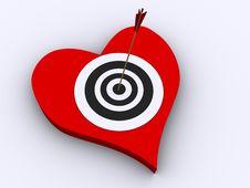 Love Array Stock Image