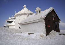 Free Way To Snezka Mountain Royalty Free Stock Images - 2207619
