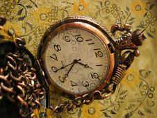 Free Old Clock On Background Stock Photos - 2208643