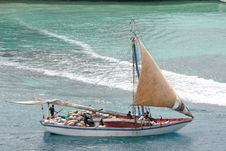 Free Bahama Work Boat Royalty Free Stock Photography - 2208697