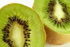 Free Kiwi On White Stock Photography - 2209592