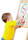 Free Child With Paints Stock Photos - 22002893